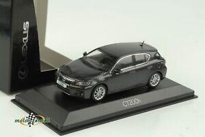 Lexus CT 200h Dark Grey Metallic 2012 1:43 Minichamps Dealer