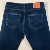 Mens LEVI STRAUSS & CO Levi's 501 Jeans W32 L32 Blue Straight Leg Button Fly