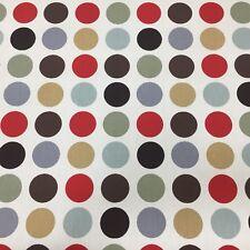 Great Spot Cinnamon Cotton Fabric by Prestigious Textiles LESS THAN HALF RRP
