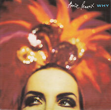 """ANNIE LENNOX Why & Primitive PICTURE SLEEVE 7"""" 45 record + juke box title strip"""