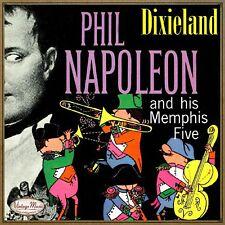 PHIL NAPOLEON CD Vintage Jazz Swing Orchestra / Dixieland Ragtime & His Memphis