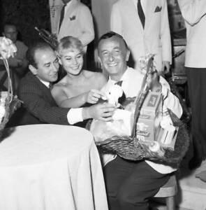 Marisa Allasio and Emilio Schuberth 1955 OLD FILM STAR PHOTO