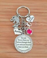 Personalised BIRTHDAY Gift Elephant keyring for Mum Friend Daughter Sister Nanny