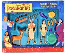 Disney's Pocahontas Kocoum & Nakoma Action Figure Gift Set #66510 Free Shipping