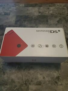 Nintendo DSi Red Handheld System Brand New Factory Sealed