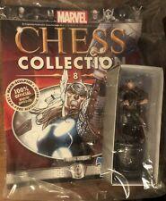 Marvel Comics Chess Collection THOR White Bishop Eaglemoss 2014 Magazine #8