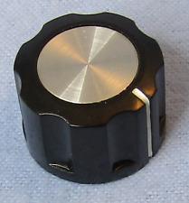 Fluted Knob with Indicator Line Large Sato Parts # K-2901-L 6.0mm Shaft