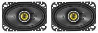 """Pair KICKER 46CSC464 4x6"""" 300 Watt 4-Ohm 2-Way Car Audio Coaxial Speakers CSC464"""