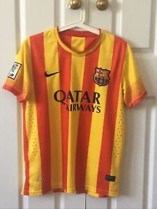 Barcelona FC away jersey 2013/14, Official Nike