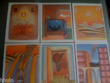 Folon Suite des 12 illustrations Hors Texte Boris Vian un automne à Pékin Chine