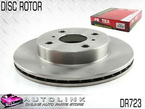 PROTEX FRONT DISC ROTOR FOR TOYOTA ECHO NCP10R NCP12R 1999-2005 DR723 x1