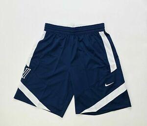 Nike Villanova Wildcats Team Basketball Short Men's Large CQ4360 Navy Blue