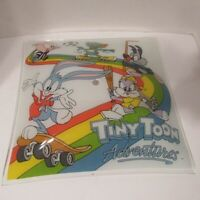 Vintage Tiny Toon Adventures Ceiling Lamp Light Glass Shade 12 x 12 No 905