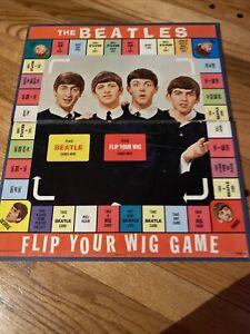 Vintage The Beatles Flip Your Wig Game Board (Board only) 1964 Nems Enterprise