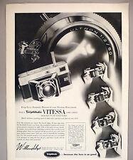 Vitessa 35mm Camera PRINT AD - 1954 ~ Voigtlander, Willoughbys