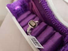 Zawadi Golden Sapphire & Zircon Ring in Sterling Silver