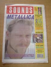 SOUNDS 1990 MAY 12 METALLICA BILLY IDOL FA CUP MAN UTD CRYSTAL PALACE NIRVANA