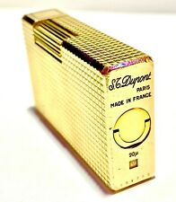 S.T. Dupont Feuerzeug Ligne 1 vergoldet 20 Mikron *VINTAGE* *RETRO*