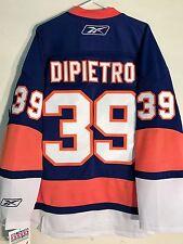 Reebok Premier NHL Jersey New York Islanders Rick Dipietro Blue sz XL