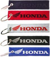Honda Motorcycles Key Chain, Motorbikes, Bikers Embroidered Key Locator Keychain
