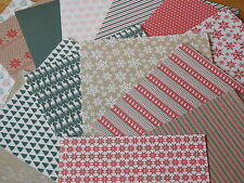 """Simply Creative 'Deck The Halls' 6"""" x 6"""" FSC Papers 15 SHEETS"""