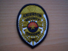 Da Stati Uniti Anderson Security Officer ca 8 x 6 cm