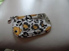Vera Bradley Clip zip Window ID holder in Go Wild