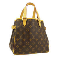 LOUIS VUITTON BATIGNOLLES HAND TOTE BAG SP0026 PURSE MONOGRAM M51156 01939