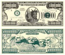 Liberty Statue - One Million Dollar Note x 5