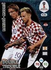 Panini WM Russia 2018 -  Nr. 436 - Ivan Rakitic / Luka Modric - Double Trouble