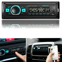 Car Stereo Radio With DAB/DAB+/FM Receiver 12V 1 Din Car Bluetooth MP3 Player