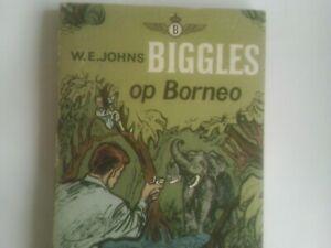 Biggles op Borneo by W E Johns P/B 1962