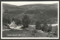 Postcard Bridge of Brown nr Tomintoul Moray Scotland RP #2