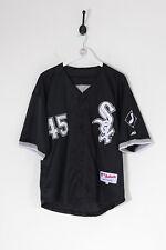 Vintage MLB Chicago White Sox Jordan 45 Baseball Jersey Black (XL)