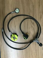 New ListingAqua Lung / Us Divers Micra Scuba Regulator with Octo & Pressure Gauge