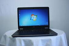 """Cheap Laptop 14.1"""" Dell Latitude E7440 i7-4600U 8GB 128GB SSD Windows 7 Webcam"""