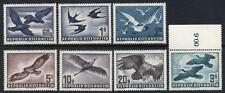 AUSTRIA MNH 1950 SG1215-1221 Air Set