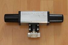 OMAL pneumatischer Stell-Antrieb SR15 + Kugelhahn-Ventil DN10 3/8 Zoll Garantie