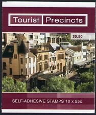 2008 AUSTRALIAN STAMP BOOKLET TOURIST PRECINCTS THE ROCKS 10 x 55c STAMPS MUH