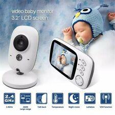3.5 Zoll Wireless Funk Babyphone Baby Monitor mit Nachtsicht Temperatur Kamera