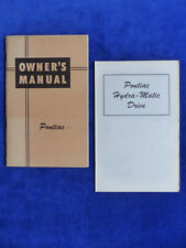 Pontiac Streamliner Torpedo - Owner's Manual US-Betriebsanleitung 1947 USA