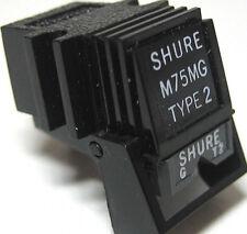 GENUINE! NEW! SHURE M75 T2 CARTRIDGE ~ UPGRADABLE USING ANY N75 SERIES STYLUS
