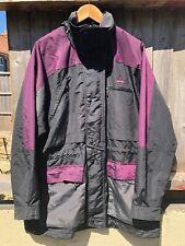 Nike 1990's ACG Black And Purple Jacket Coat