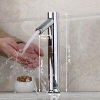 Useful Automatic Sensor Bathroom Faucet Hot Cold Sink Mixer Tap Basin Faucet