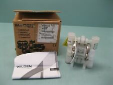 "1/4"" NPT Wilden P.025 Plastic Diaphragm Pump Polypropylene NEW F16 (2662)"