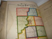 ILLUSTRATED HISTORICAL ATLAS OF VIGO COUNTY INDIANA 1874,TERRE HAUTE,ORIGINAL