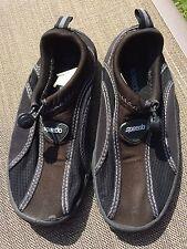 Children's Black SPEEDO Pool/Beach Shoes - Size 12/13 -  Worn Once