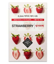 Etude House 0.2 Therapy Air Sheet # Strawberry, Mask Sheet, Brightening