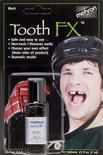 Mehron Blackout Paint Special Tooth Knock Out 0.25 fl oz FX Liquid, Black