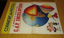 CORRIERE DEI PICCOLI- N° 41-8 /10/ 1967-FIGURINE CALCIATORI  NAPOLI E BOLOGNA